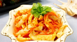 Как мариновать кальмары по-корейски