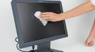 Как очистить экран монитора