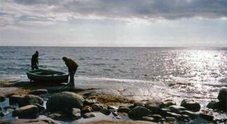 Как ловить на Белом море