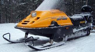 Как сделать простой снегоход