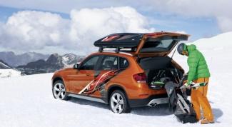 Куда поехать зимой на машине