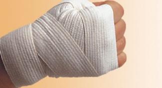 Как наматывать бинты для бокса