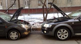 Как прикурить от другой машины