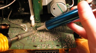 How to solder the wire