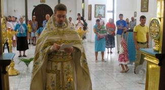 Как подавать записки в церкви