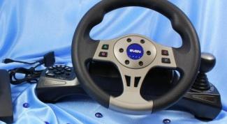 Как настроить руль и педали