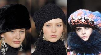 Какие головные уборы в моде в сезоне осень-зима 2014