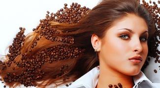 Восстанавливающая, укрепляющая кофейная маска для волос