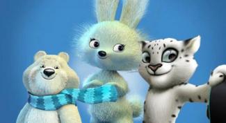 Какими будут символы зимней Олимпиады 2014 в Сочи