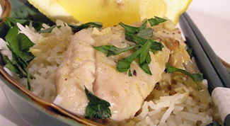 Рыба с карри и кокосом