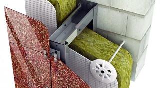 Вентилируемые фасады: устройство, монтаж, ремонт
