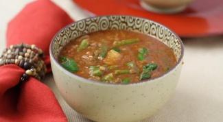 Как просто приготовить суп из красной чечевицы
