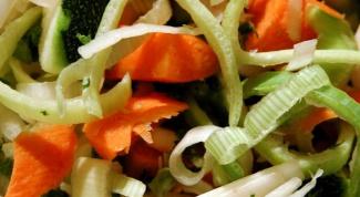 Французский салат с сельдереем