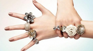 How to wear rings