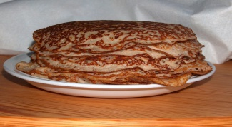 Как печь блины на кефире