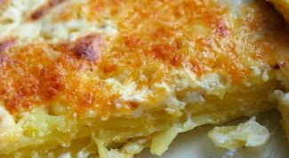 Картофельная запеканка Гратен
