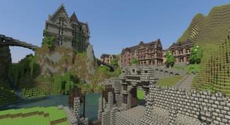 Как построить замок в майнкрафт