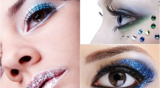 Новогодний макияж 2014