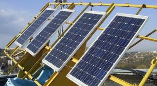 Солнечные батарея для дома - альтернативный источник электричества