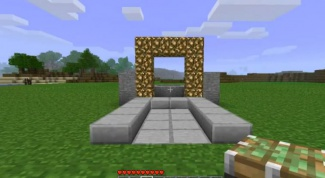 How to make a portal to heaven in minecraft