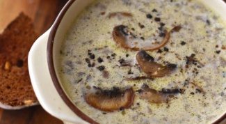 Домашний грибной суп