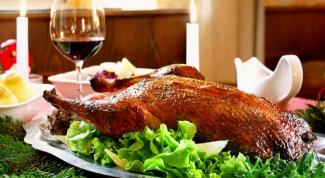 Как приготовить гуся на Рождество