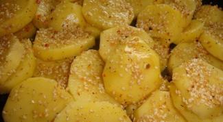 Готовим вкуснейший картофель с кунжутом
