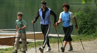 Как заниматься скандинавской ходьбой для похудения