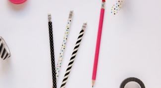 Как обновить карандаши