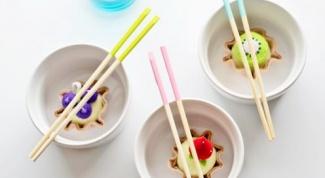 Как сделать цветные палочки для суши
