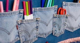 Что можно сделать из старых джинсов?