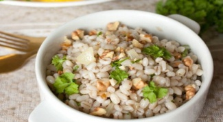 How to cook pearl barley in a slow cooker