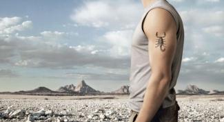 Какой знак подходит мужчине-Скорпиону