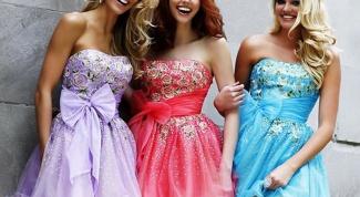 Какое платье надеть на выпускной 2014
