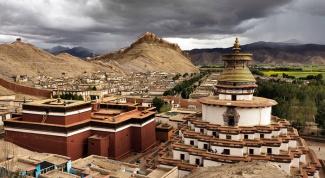 Где находится Тибет