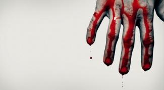 К чему снится кровь?