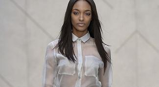 Шифоновая блузка: как носить прозрачную одежду?
