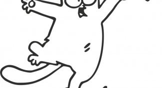 Как нарисовать кота Саймона?