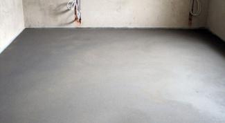 Как правильно сделать цементную стяжку?