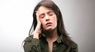 What is the reason for dizziness in the morning