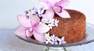 Как сделать орхидею из мастики?