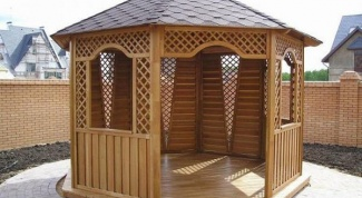 How to make the grid for the gazebo?