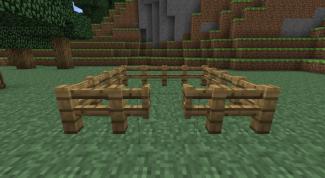 Как в игре minecraft сделать ворота?