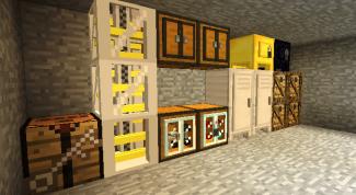 Как сделать в minecraft холодильник?