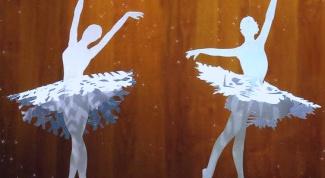 """Как сделать красивое  новогоднее украшение """"Снежинки-балеринки"""""""