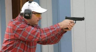 Как стрелять из пистолета