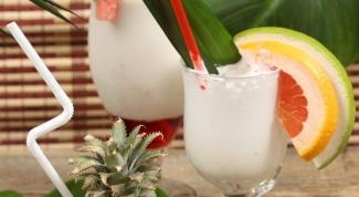 Рецепты молочных коктейлей