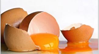Как употреблять сырые яйца