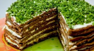 Рецепт торта из печени