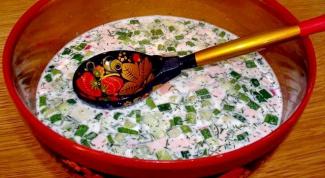 Окрошка, холодник, чалоп - супы для жаркого лета